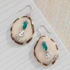 Silpada Polished Palms Drop Earrings